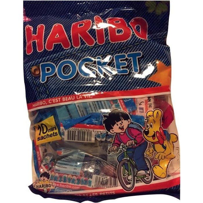 HARIBO Bonbons Pocket assortis en sachet - 380 g