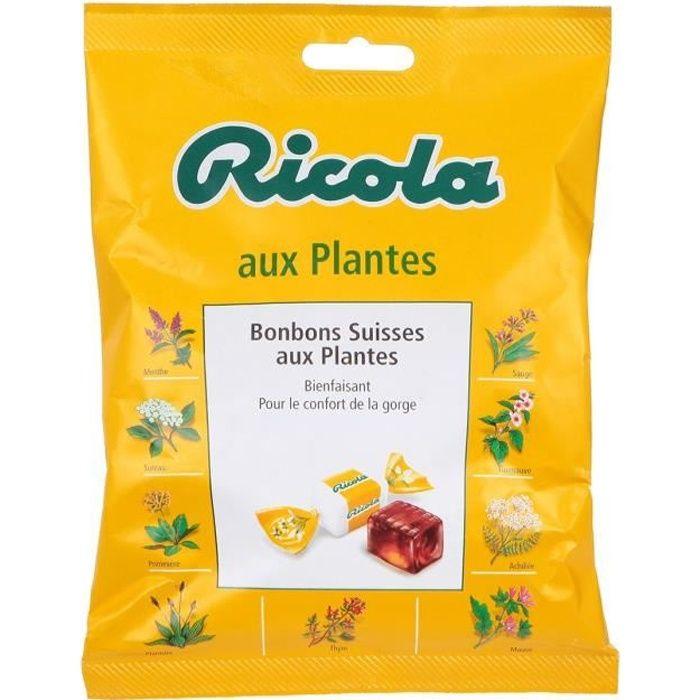 RICOLA Bonbons Suisses aux plantes assortis - 116 g