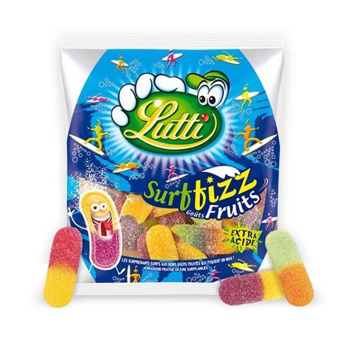 Bonbons acidulés aux fruits 200 g Lutti