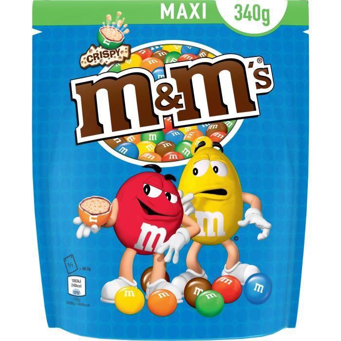 MARS WRIGLEY CONFECTIONERY FRANCE Pochons de bonbons M&M'S Crispy - 340 g
