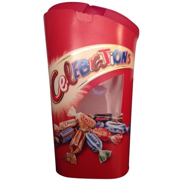 MARS Bonbons assortis Célébrations en ballotin - 380 g