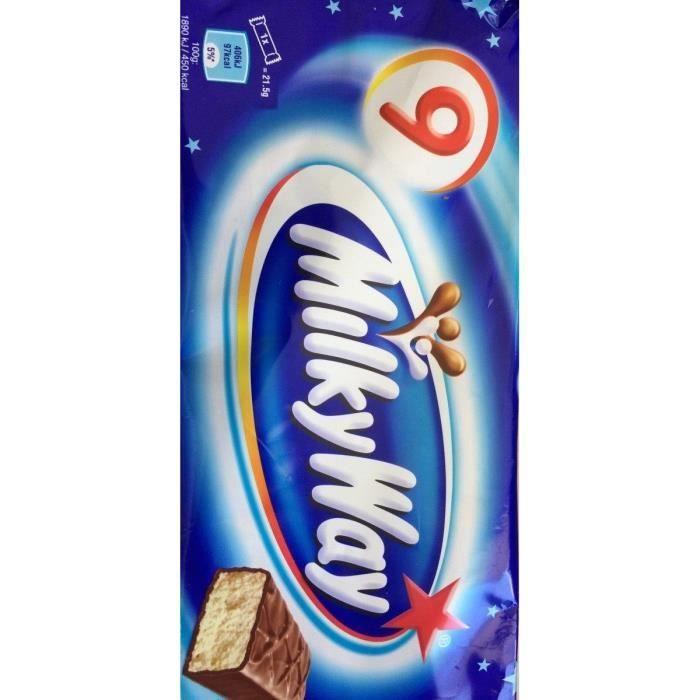 MARS Barres chocolatées Milky Way - 9x 21,5 g