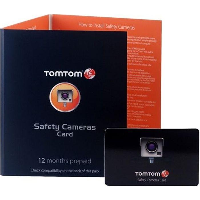 TomTom Carte Radars 12 mois d'abonnement