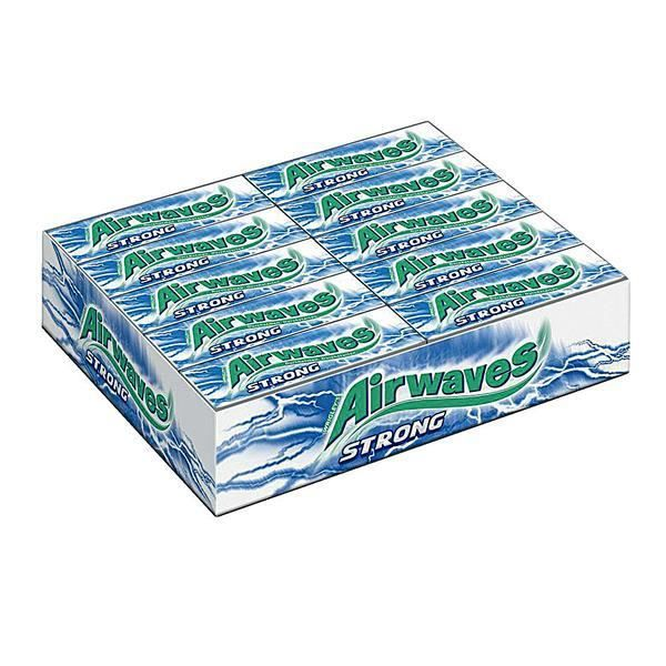 Wrigley Airwaves Extreme Strong Chewing Gum 30 x 10 Dragees
