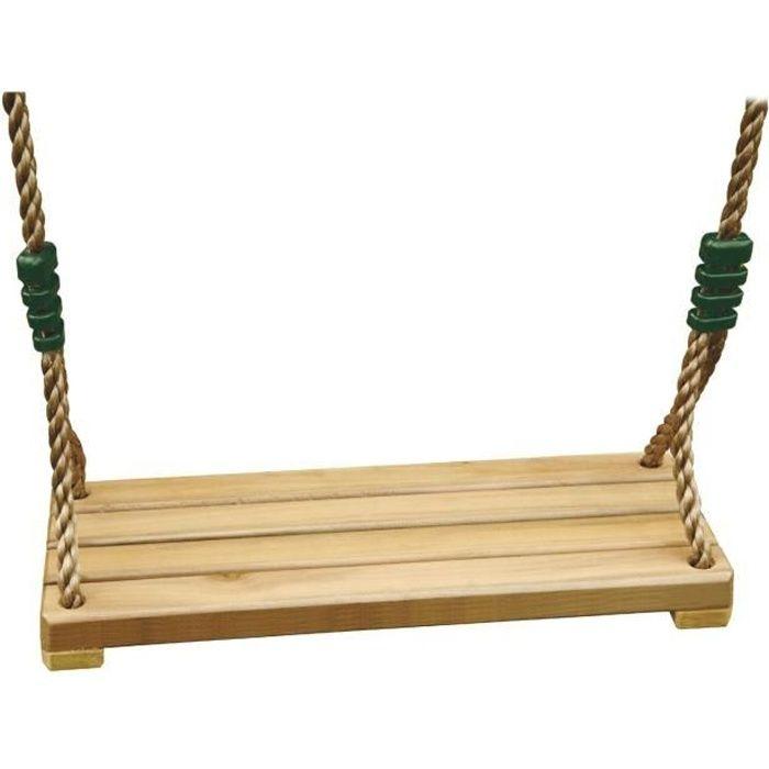 Balançoire bois Luxe - pour portique 3 à 3,50m - TRIGANO