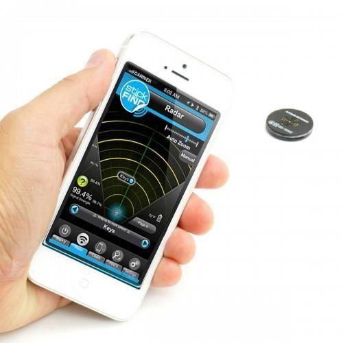 Sticknfind - Pack d'autocollants Bluetooth radar