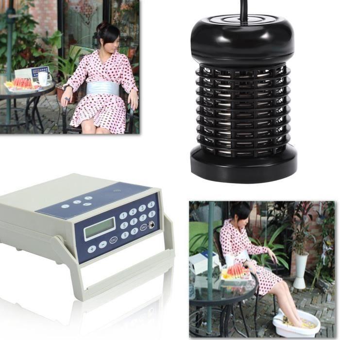 Accessoire ionique professionnel de station thermale de bain de pieds de rangée pour la machine de nettoyage d'ion de Detox -YEL