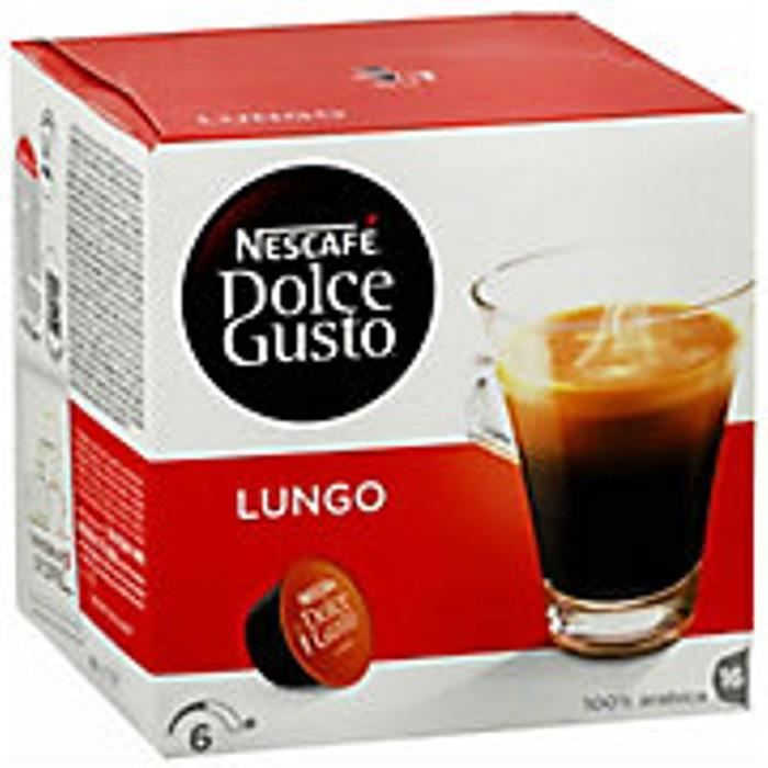 Dolce Gusto Lungo 16 dosettes - 134132