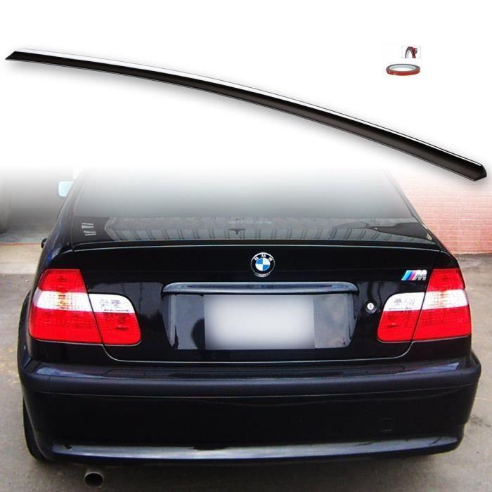 BECQUET DE COFFRE LOOK M3 NOIR BRILLANT POUR BMW SERIE 3 E46 BERLINE DE 1998 A 03/2005