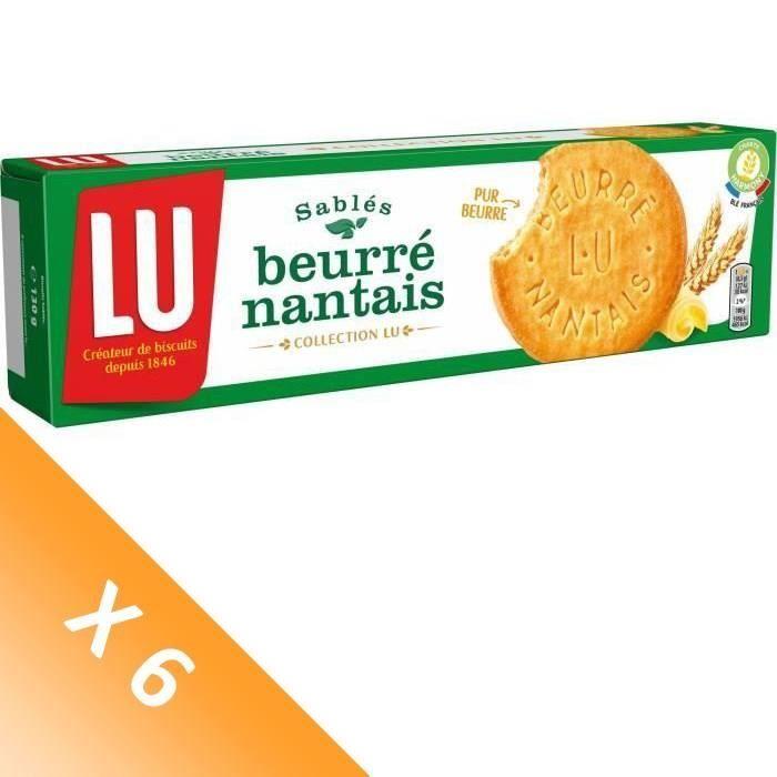 [LOT DE 6] Biscuits sablés 130 g Lu