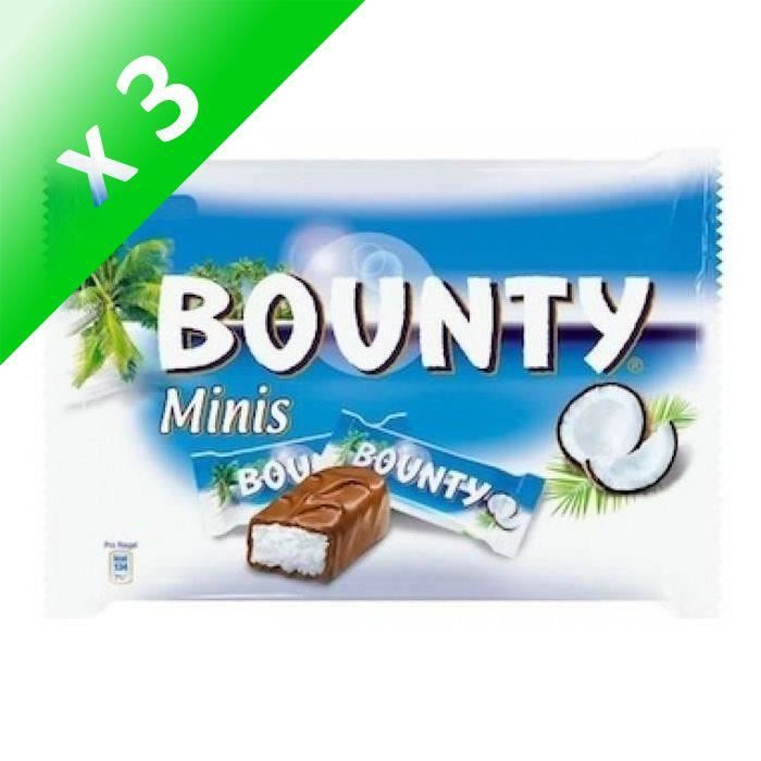 [LOT DE 3] MARS WRIGLEY CONFECTIONERY FRANCE Barres Bounty Minis - 366 g