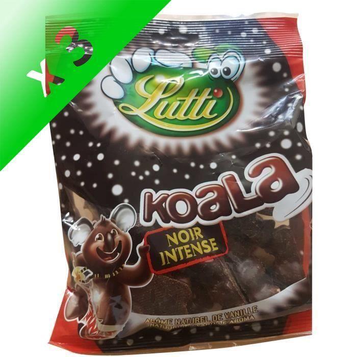 [LOT DE 3] LUTTI Guimauve au chocolat noir Intense - 185 g