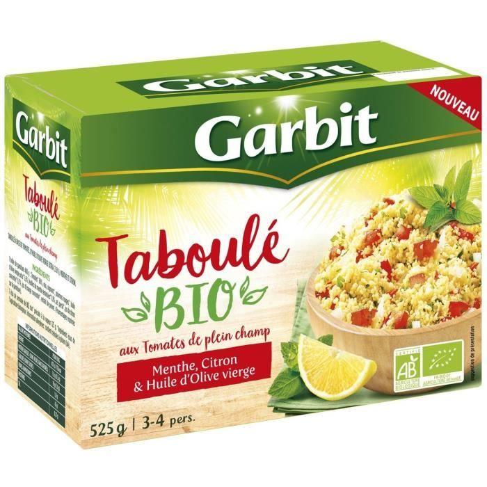 GARBIT Taboulé tomates bio - 525 g