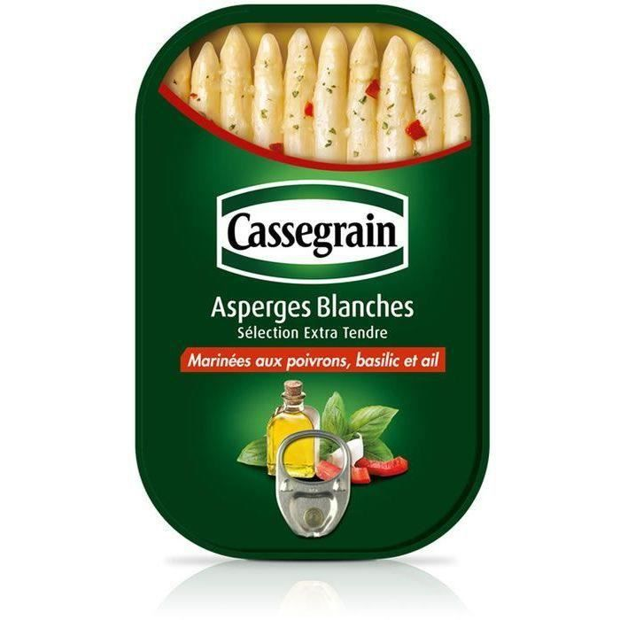 CASSEGRAIN Asperges blanches marinées