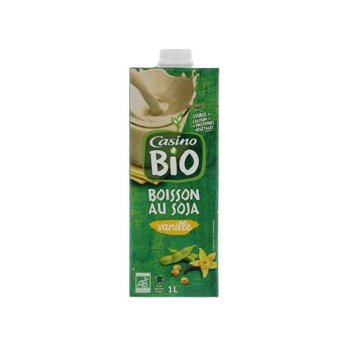 CASINO BIO Boisson Soja Calcium 1l