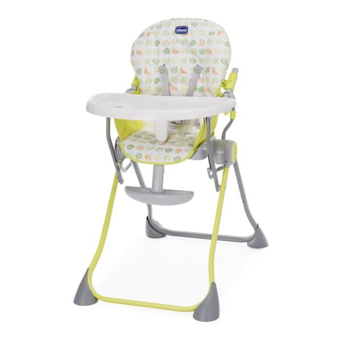 CHICCO Chaise haute POCKET MEAL Green apple