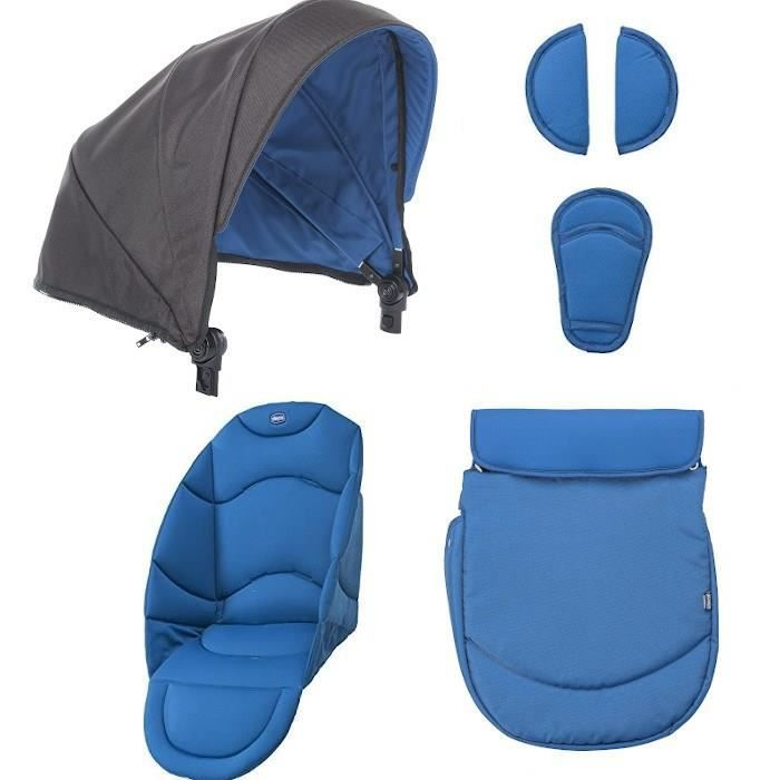 CHICCO Pack Coloris Urban Power Blue