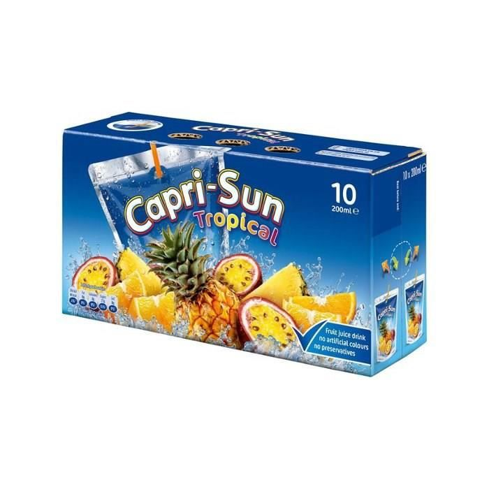 CAPRI-SUN Tropical Poches Nomades 10x20cl