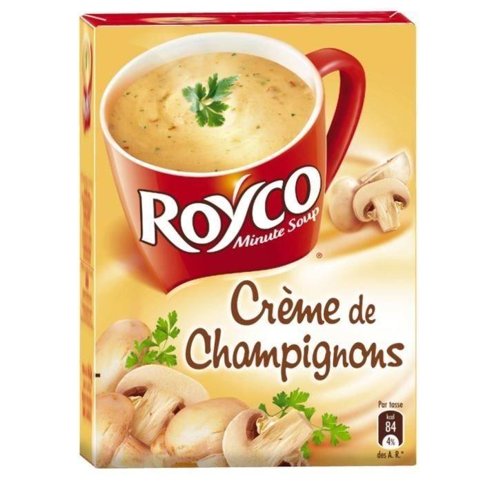 ROYCO Minute Soup Crème de Champignons 3,2l
