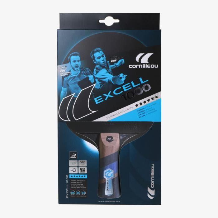 Housse de raquette Ping-pong Cornilleau Sport Excell 1000 Carbon 411000