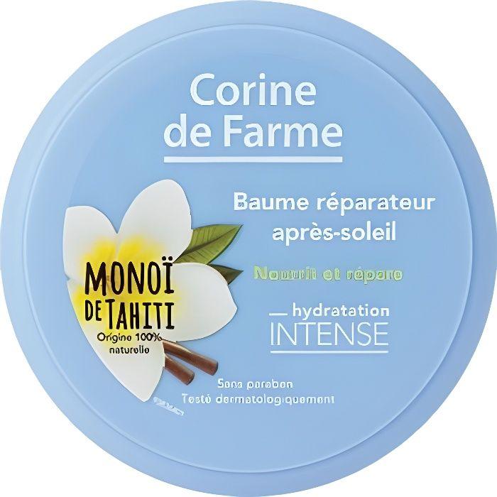 Corine de Farme - Baume Réparateur - Après Soleil - Monoï de Tahiti - Nourrit & Répare - 150ml