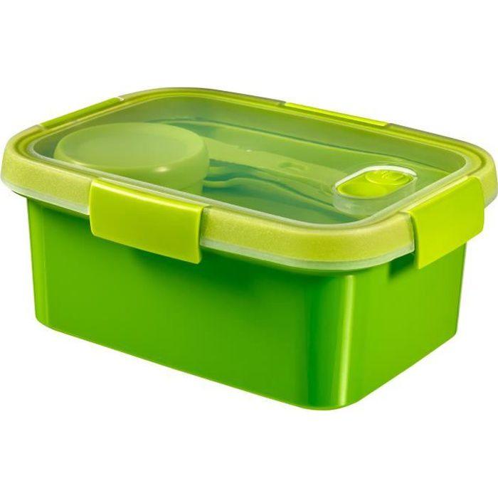 CURVER Smart Lunch box 1,2L avec couverts