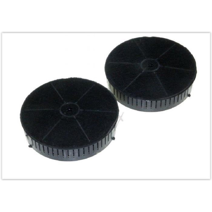 Lot de 2 filtres a charbon pour hotte ELICA CFC0038668