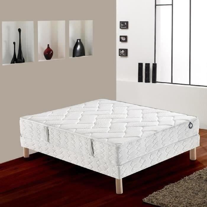 lit ensemble sommier et matelas bultex. Black Bedroom Furniture Sets. Home Design Ideas