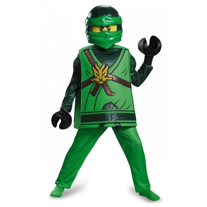 Déguisement deluxe Lloyd Ninjago®- LEGO® enfant - Taille 4/6 ans