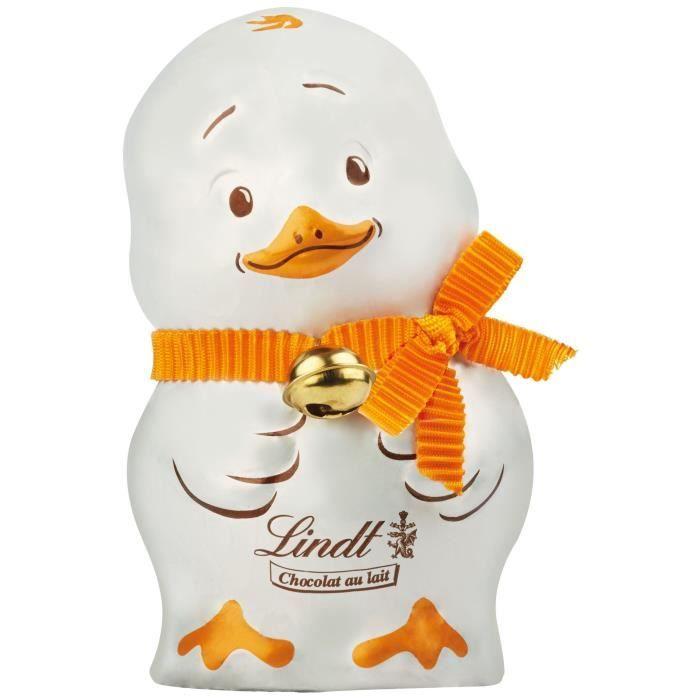 Chocolat Lindt Poussin Lait 100g pour Pâques