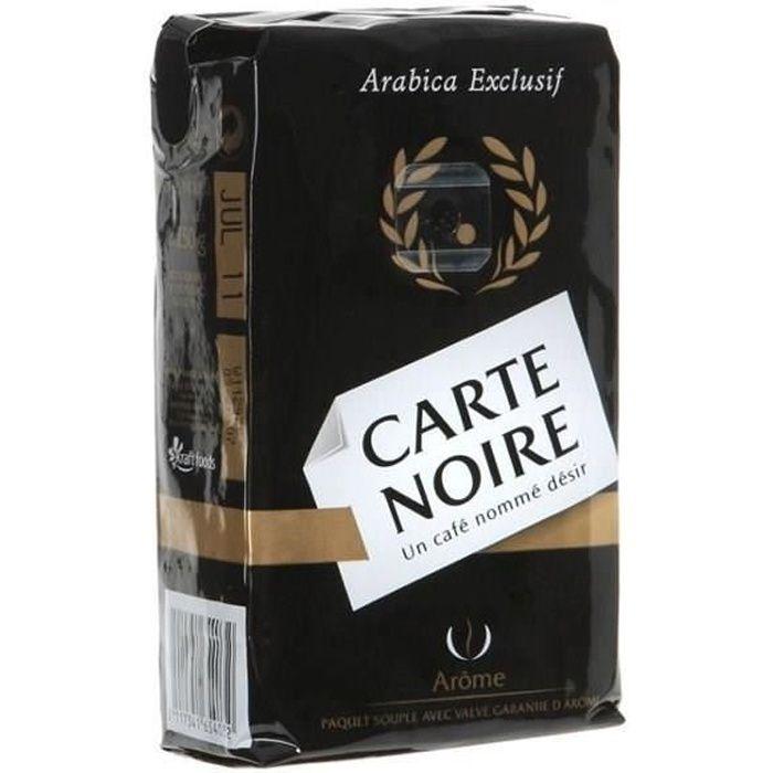 Carte Noire café moulu doux 250g
