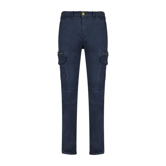 DEELUXE Pantalon cargo à poches DANAKIL Navy