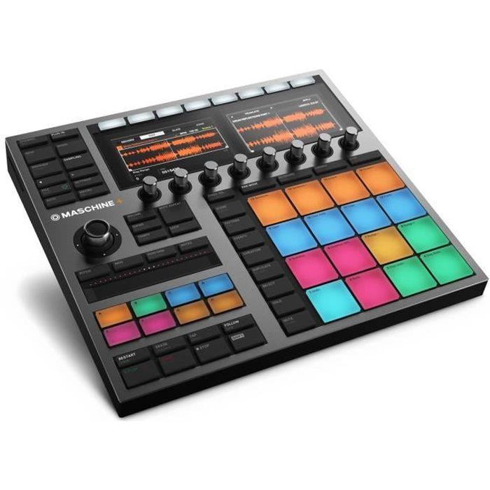 MASCHINE + - NATIVE INSTRUMENTS Contrôleur remix et production