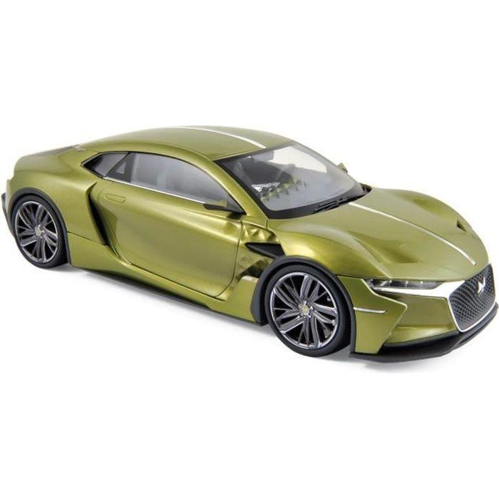 NOREV Auto modélisme Citroen DS E-Tense Salon de Genève 2016 - Echelle 1:18 - Vert métallique
