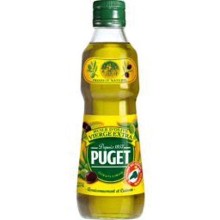 PUGET Huile d'olive - Bouteille pet de 25 cl