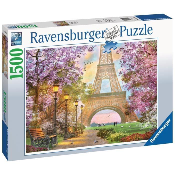 Puzzle 1500 p - Amour à Paris