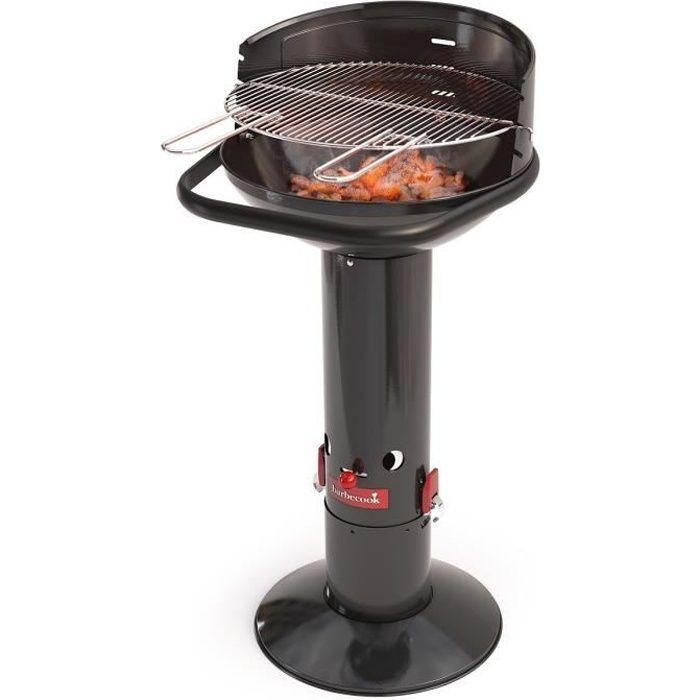 BARBECOOK Barbecue à charbon de bois Loewy 45 - Acier - Ø 43 cm - Noir