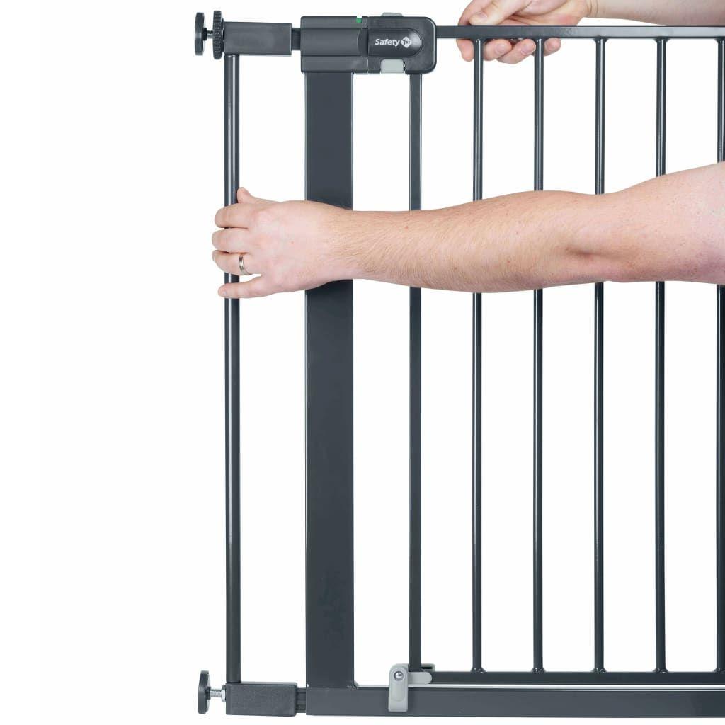 Extension pour barrières U-PRESSURE métal 7 CM métal Black