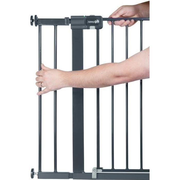Extension pour barrières U-PRESSURE métal 14 CM métal Black