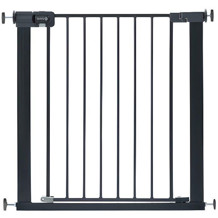 SAFETY 1St Barrière de sécurité enfant Easy Close - Métal - Black