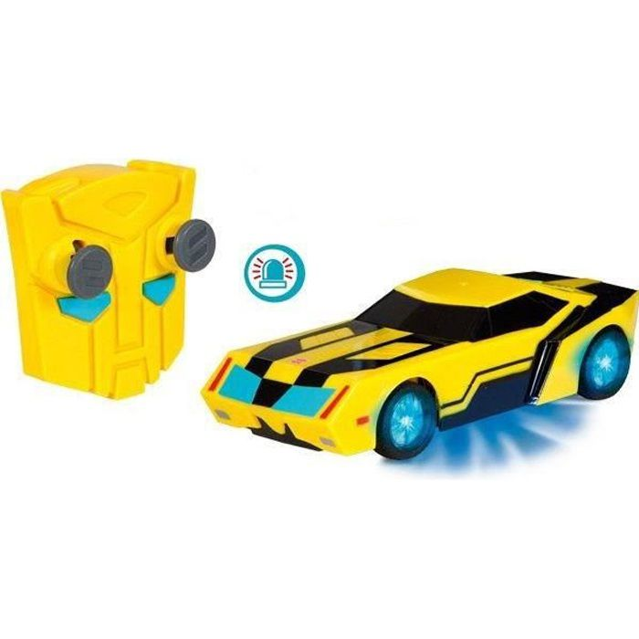 TRANSFORMERS Majorette Voiture RC  Bumblebee 1/24