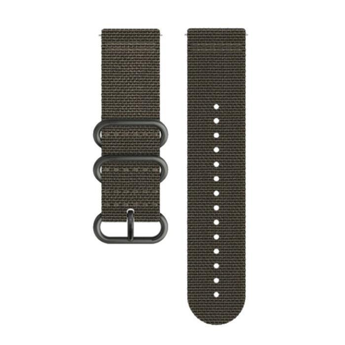 SUUNTO Bracelet de Montre Traverse Alpha Foliage Textile Strap