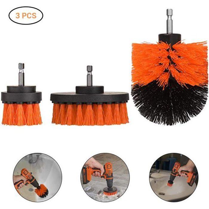 Kit de nettoyage de brosse puissante pour brosse de nettoyage pour perceuse électrique