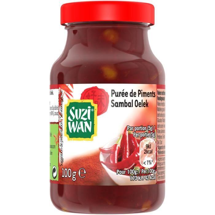 Suzi Wan Purée de piments 100g