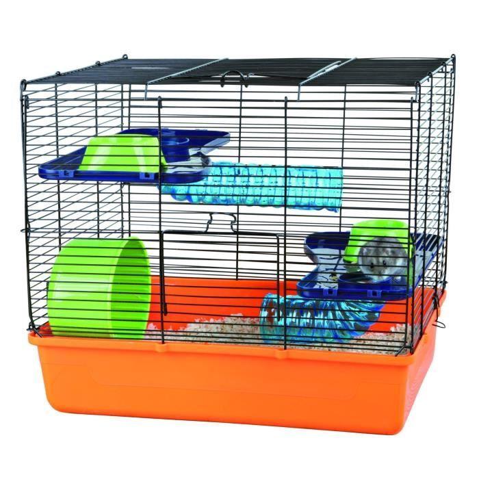 TRIXIE Cage avec équipement de base pour rongeur