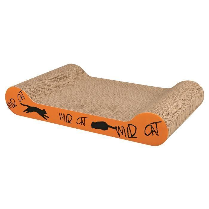 TRIXIE Plaque griffoir Wild Cat - Orange - Pour chat