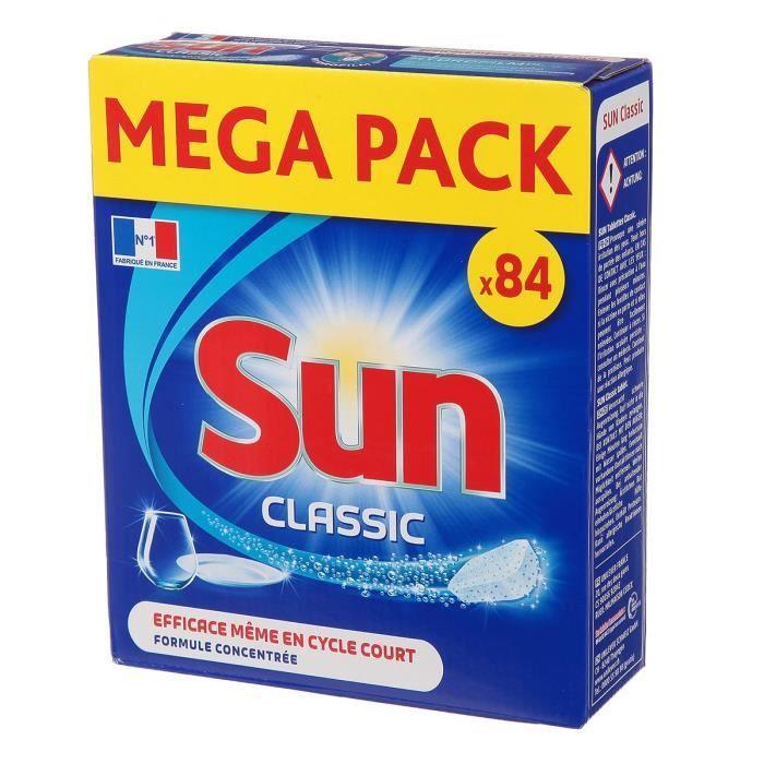 SUN Tablettes lave-vaisselle Classic - Lot de 84