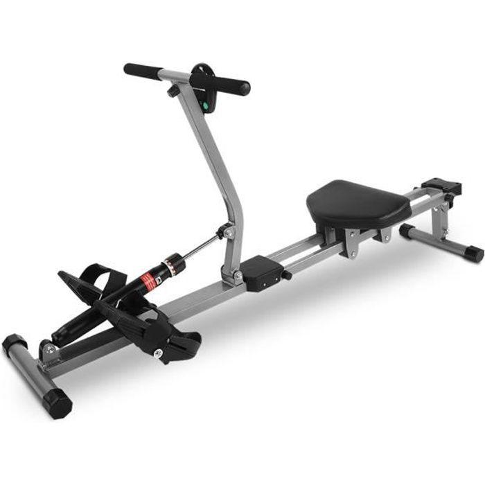 Accessoire de remise en forme de gymnastique à la maison de formation de corps de rameur cardio de machine à ramer en acier HB024