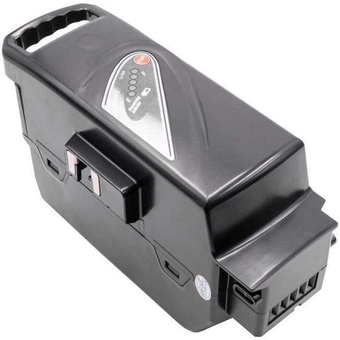 INTENSILO Li-Ion batterie pour Panasonic Flyer C4 Premium, C5, C5 Deluxe, C5 Premium, C6, C7+, C8 ebike vélo électrique (23200mAh,