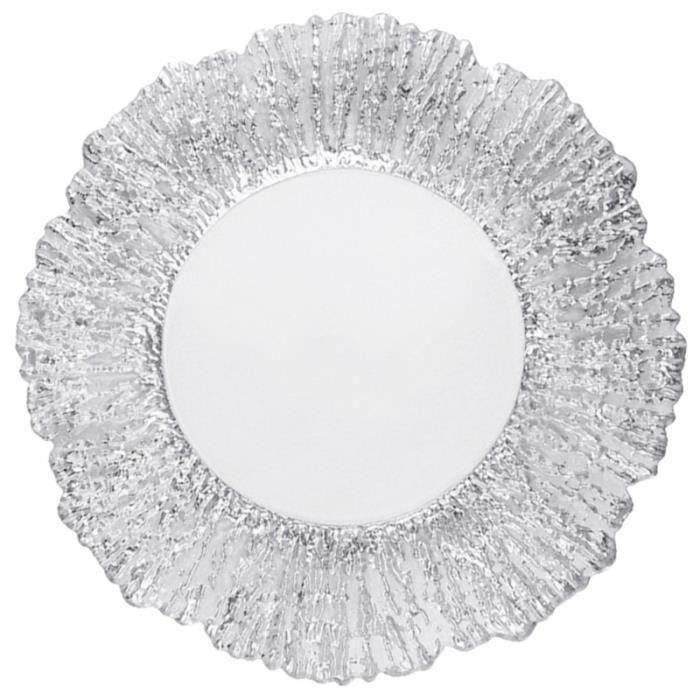 HK1-315341 pc assiette à collation créative plateau en verre délicat à fruits Portable beau panier de pour bureau DESHYDRATEUR D